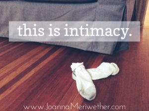 this is intimacy.
