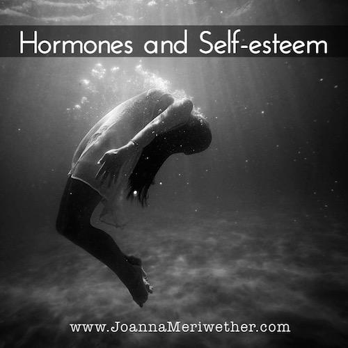 woman underwater, sinking in her emotions