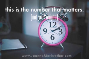 this is the number that matters [not your weight].