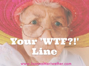 Your 'WTF?!?' line.